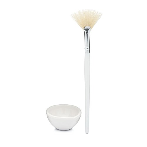 Mask Kit (Brush & Bowl), Elegant Application of Acid Peels and Clay MasksLAUNCH SPECIAL