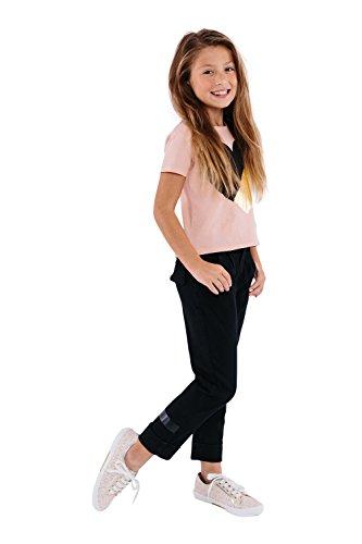 Michael Kors Girl's IMA Boerum Fashion Sneaker Vanilla 4