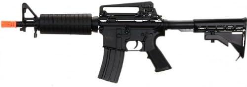 lancer tactical lt-01b m4 carbine electric airsoft gun full metal gearbox fps-400(Airsoft Gun)