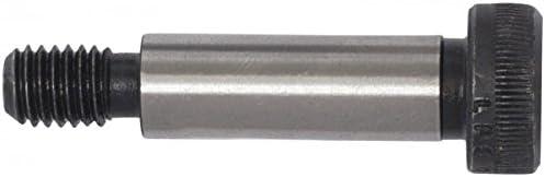 Shoulder Screws Shoulder Bolt Thermal Black Oxide Finish -Socket Head Thread: 5//16-18 Shoulder Length: 2-1//2 Shoulder Diameter: 3//8 Nylon Patch Nylon Patch Quantity: 25 Alloy Steel