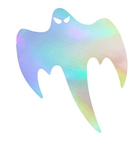 NBFU DECALS Halloween Koenigsegg Ghost (Hologram) (Set of 2) Premium Waterproof Vinyl Decal Stickers for Laptop Phone Accessory Helmet Car Window Bumper Mug Tuber Cup Door Wall Decoration ()