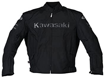 Joe Rocket Kawasaki ZX – Zapatillas de textil para moto chaqueta negro extra grande XL