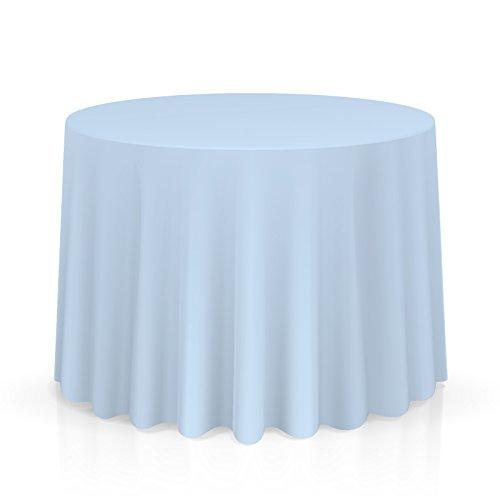 Round Top Table Half Folding (Lann's Linens - 132