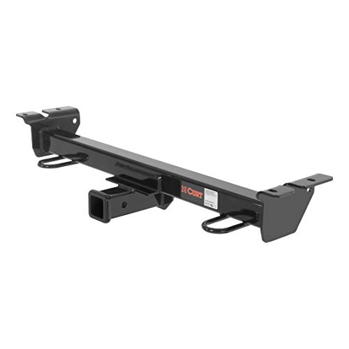 CURT 33055 Front Hitch with 2-Inch Receiver, Fits Select Ford E-Series Vans - E-350 Econoline Van