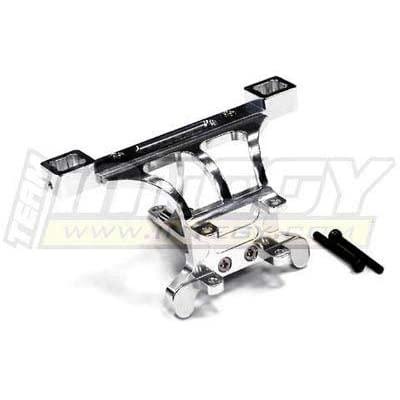 Integy RC Model Hop-ups T3257SILVER Evolution5 Front Body+Pin Mount for 1/10 Revo 3.3, E-Revo, Summit & Slayer (Both): Toys & Games