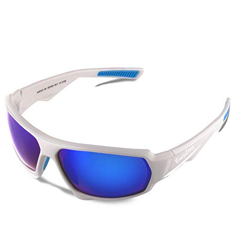 Polarized Sports Sunglasses, Cycling Sunglasses for Men Women HD Glasses Driving Running Bike Fishing Golf ()