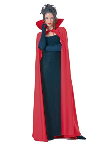 Rubie's Full Length Fabric Cape, Black, One Size Costume
