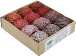 Hand Dyed 3 Strand Floss Designer Set 29 Yds, 12/Pkg: As Time Goes By Set 1 ()