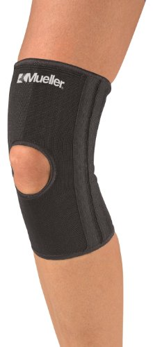 Elastic Knee Stabilizer (Mueller Knee Stabilizer, Black, Small/medim)