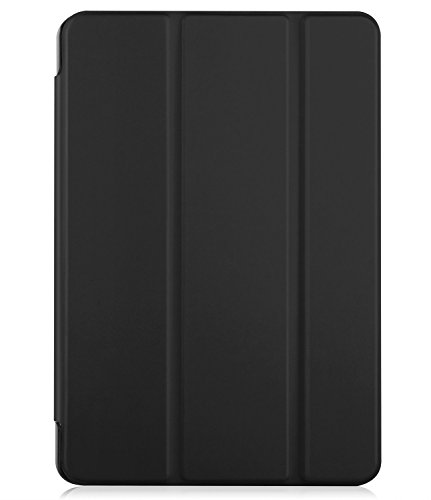 ASUS ZenPad 3S Case, IVSO ASUS ZenPad 3S Case - Ultra Lightweight Slim Smart Cover Case-for ASUS ZenPad 3S 9.7 inch 2016 Tablet(Black)