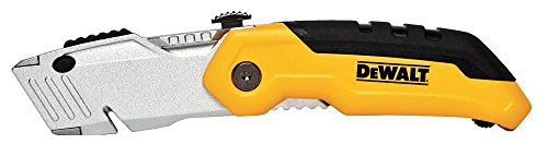 076174100358 - DEWALT DWHT10035L Folding Retractable Utility Knife carousel main 0