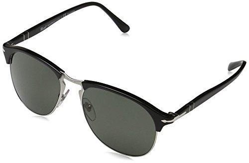 Persol Mens Sunglasses (PO8649) Black/Green Acetate - Polarized - - Persol Aviator Polarized
