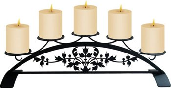 Victorian Fireplace Pillar by Village Wrought Iron