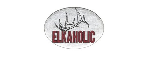 Knockout 681.1H Elkaholic Hitch Cover