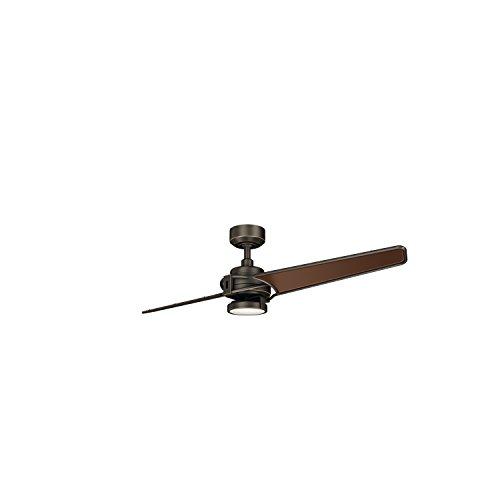 Kichler 300702OZ 56``Ceiling Fan, Olde Bronze (Bronze 56' Ceiling Fan)