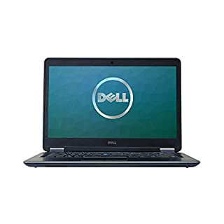 Dell Latitude E7440 14in Laptop, Core i7-4600U 2.1GHz, 8GB Ram, 250GB SSD, Windows 10 Pro 64bit, Webcam (Renewed)