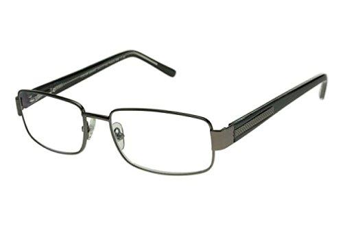 Foster Grant Wes Multifocus Progressive Gunmetal Reading Glasses (+1.75) (Glasses Assortment Reading)