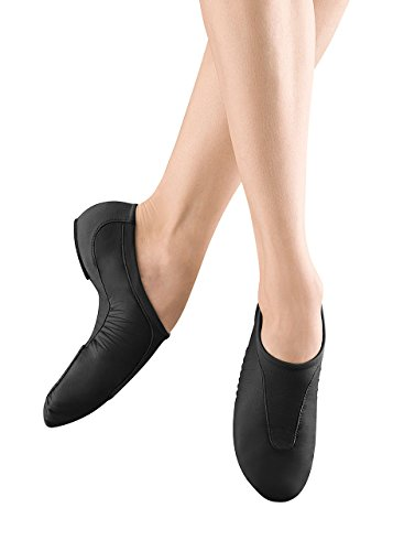 Bloch Dance Women's Pulse Jazz Shoe, Black, 8 M US -