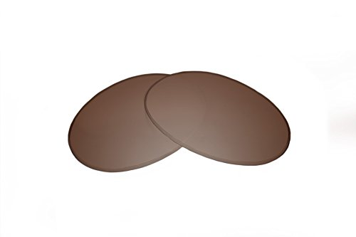 SFx Replacement Sunglass Lenses fits Bolle Coachwhip 60mm wide (Ultimate Brown Gradient Hardcoat ()