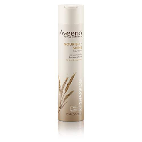 Aveeno Nourish+ Shine Illuminating Shampoo For Shiny Hair, 10.5 fl. oz
