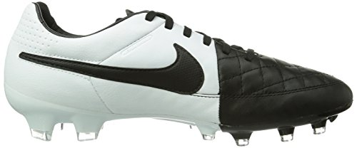 Nike Mens Tiempo Legacy FG Black/White/White Soccer Cleat 13 Men US WwFclFCWRk