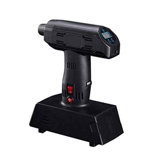 QWERTOUY Pantalla Digital 1 Ajuste inflador portátil Bomba ...