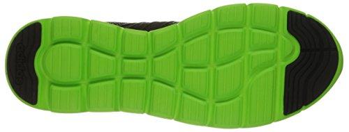 Chaussures Adidas Neo Cloudfoam Groove Noir / Noir / Vert