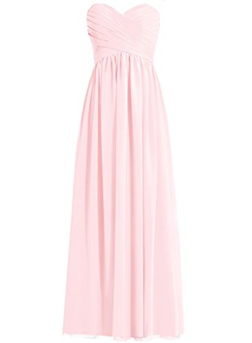 H.S.D Adult Slack Pleated Decoration Wedding Guest Dress Blushing Pink