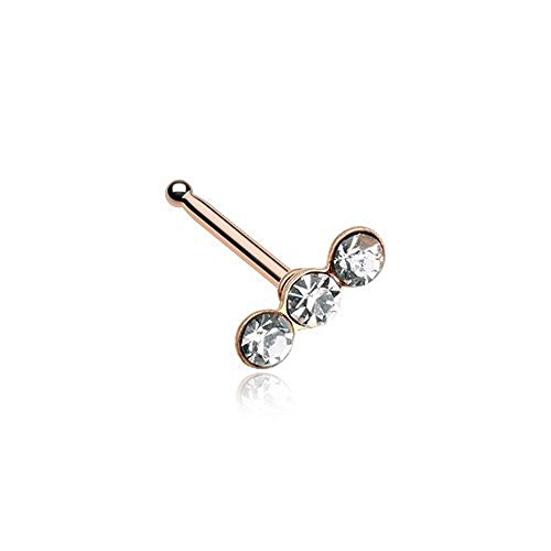 gem nose stud - 5