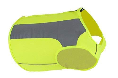 See Spot Trot - See Spot Zip EV Sport High Visibility Reflective Dog Safety Vest, Ideal To Keep Dogs Safe While Walking or Hunting. Sizes For Dogs 10 to 80 pounds. (Medium)