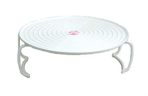 (Heat-resistant Microwave Tray, Microwave Plate Stacker, Two Tier, Color: White)