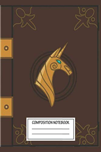 Notebook: My Little Pony Legend Book , Journal for Writing, Size 6