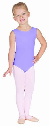 Eurotard 1089 Child Fully Lined Front Tank Leotard,Lilac,X-Small