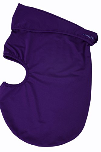 NewNow Candy Color Ultra Thin Ski Face Mask Under A Bike / Football Helmet -Balaclava (Purple) by NewNow (Image #2)