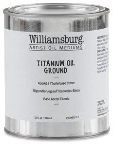 Williamsburg Artist Oil Mediums - Titanium Oil Ground - 32 oz Can