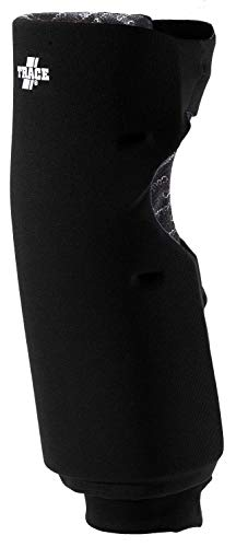 Adams USA Trace Long Style Softball Knee Guard (Medium, Black) ()