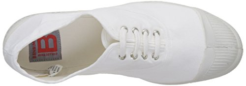 Bensimon Femme Tennis Lacet Sneaker Donna Blanc Bianco rT0rqBwx