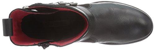 Damen Biker London 30508 Boots ES Buffalo nRPxw4x