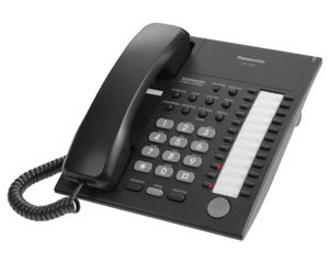 Panasonic KX-T7750B 24-BUTTON Advanced Hybrid Telephone by Panasonic