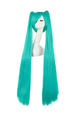 MapofBeauty 47 Inch/120cm Beautiful Long Straight Cosplay Wig