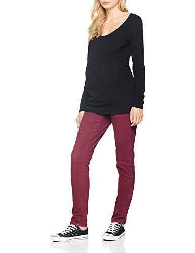 Pantaloni Jeans A Colour di Mloregon Mamalicious maternit Winetasting twTSxX