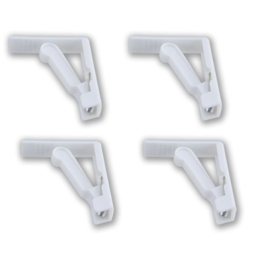 4 Pc, Picnic Tablecloth Clamp Spring-loaded Clips ()