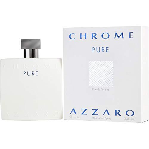 Azzarŏ Chrome Pure Cologne for Men 3.4 fl. oz Eau De Toilette Spray