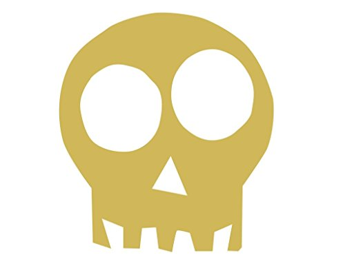 Skull Cutout Unfinished Wood Halloween Scary Cute Haunted House Party Decor MDF Shape Canvas Style 1 (12