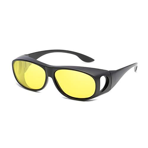 Clarity polarizadas Sol de para Gafas Sol Yellow Lentes Gafas de Black Hombres UV400 FQ 3009 de WEATLY Outdoor protección Color qwtpPEAt