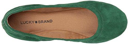 Lucky Brand Women's Lk-Emmie Ballet Flat, Canyon Rose Floral Print, Medium Verdant Green