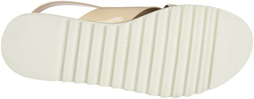 Con patent Sandalias Nude Plataforma Mujer Beige Mtng Plana Virginia Para 7Ow5x8qEF