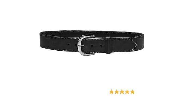 "Galco SB3-38B Men/'s Black 1.5/"" Premium Saddle Leather Dress Belt Buckle 38/"""