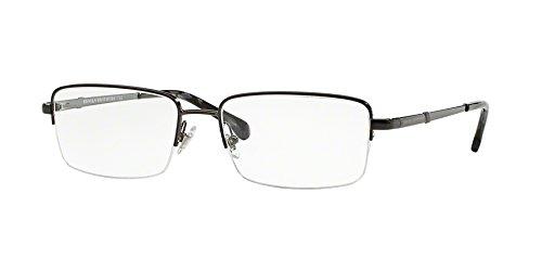 Brooks Brothers BB1035 Eyeglass Frames 1630-53 - Brushed Gunmetal - Brooks Eyeglass Brothers Frames