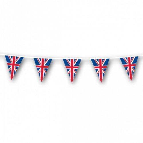 Amscan 5 m Pride Passion Party GB Bunting Union Pennant Accessory Amscan International 994887